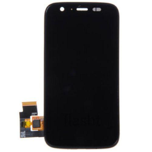 Negro para Motorola Moto G XT1031 LCD + Lente Touch Screen Digitizer Assembly + Frame