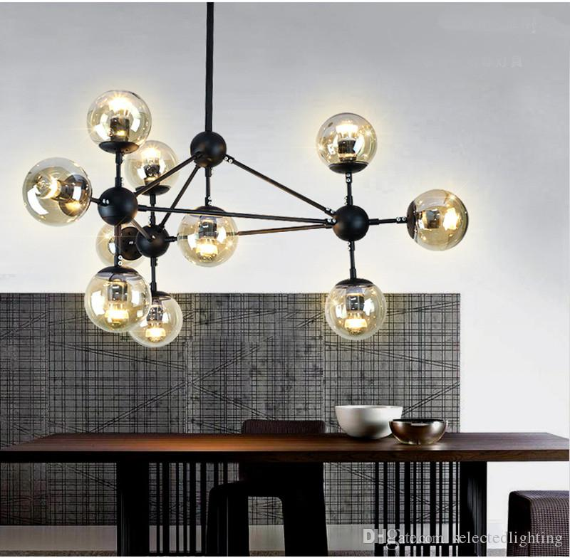 Modo Chandelier 10 Globes 15 21 Modern Glass Chandeliers Jason Miller Pendant Lamp Droplight Living Room Dining Roll Hill