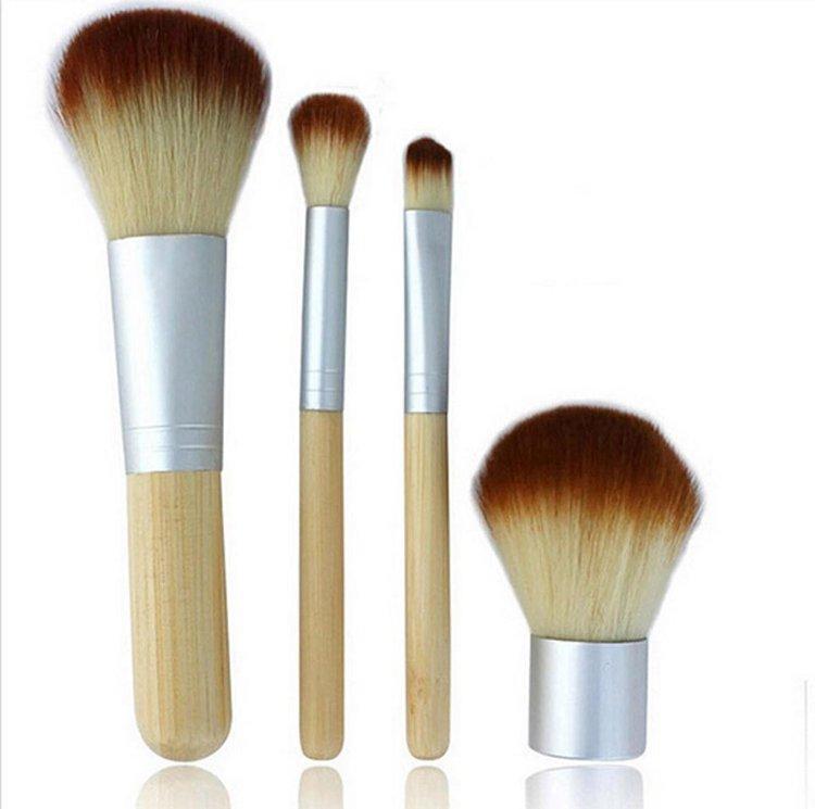 /Professional Foundation Make up Bamboo Brushes Kabuki Makeup Brush Cosmetic Set Kit Tools Eye Shadow Blush Brush qp