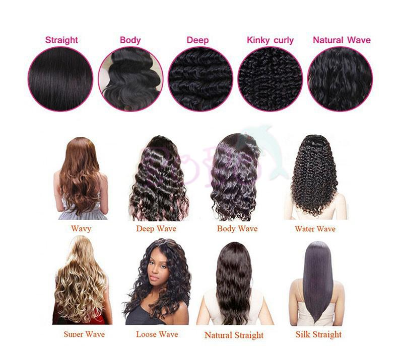Brazilian Virgin 100% Human Hair Full Lace Human Hair Wigs For Black Women Body Wavy Lace Front Wigs 150% density with bang
