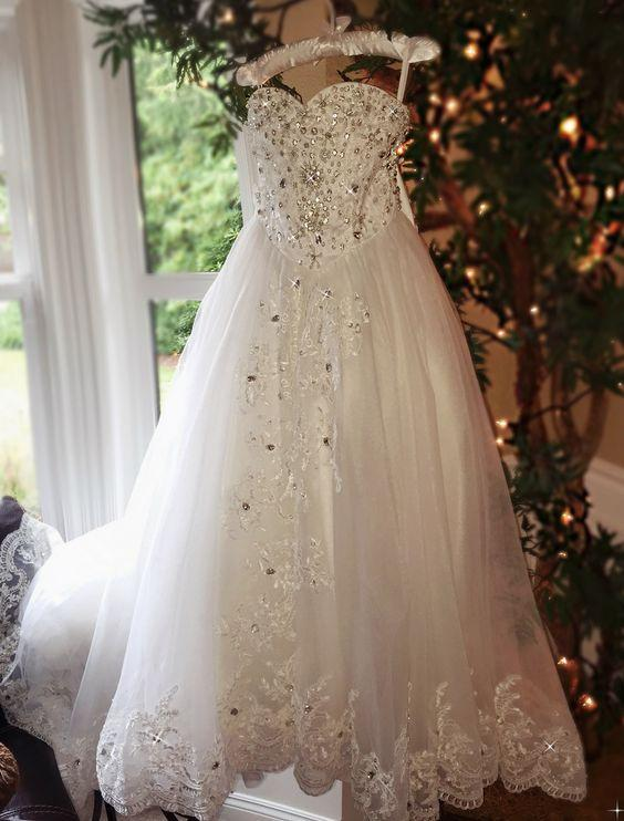 Vestidos de cristal das meninas de flor de luxo para casamentos com laço de renda vestido de comunhão de verão crianças Formal Wear Sweep trem pageant vestidos para menina