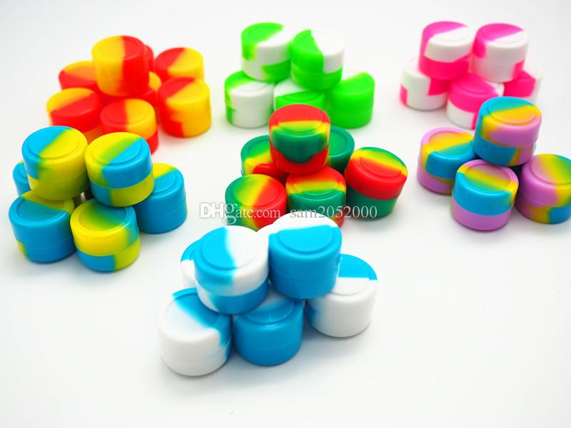 2ML quality approved silicone container 22x17mm