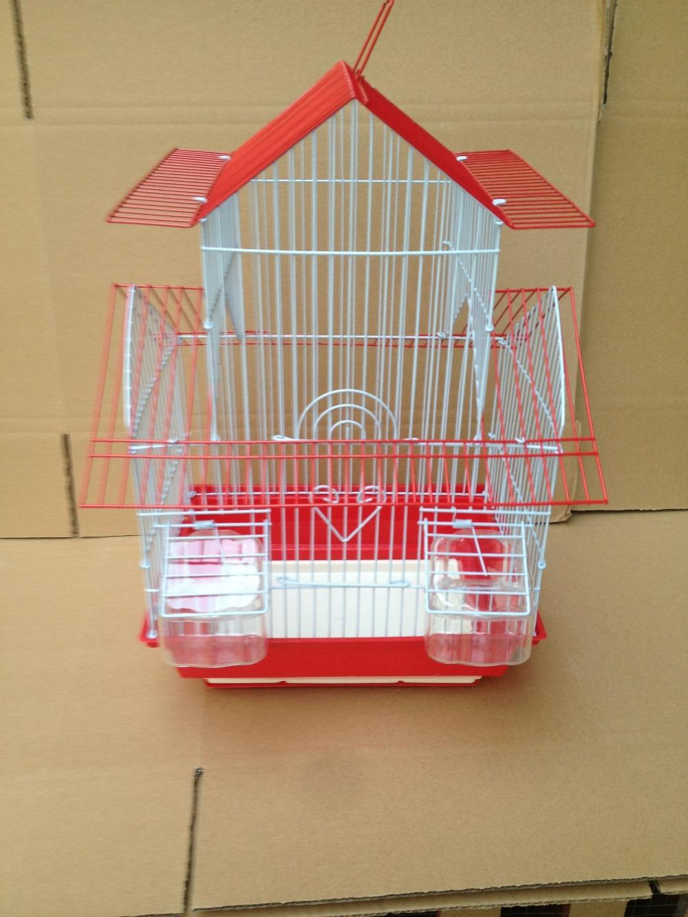 Choose the right bird cage for your feathered friend. Find roomy flight cages and stylish cages crafted from safe, high-quality materials. For birds of every size, from finches to parrots.