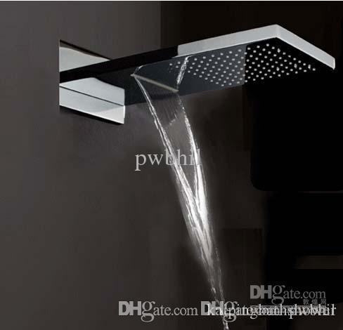 dual rain shower head. Wholesale Waterfall Shower Head With Dual Rain And Functions 3  Function By Pwbhil Under 413 07 Dhgate Com