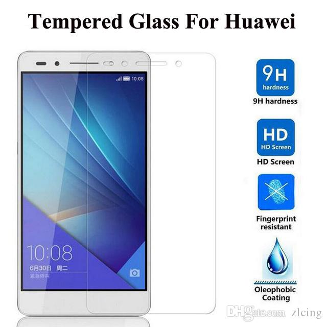 Закаленное стекло пленка взрывозащищенный протектор экрана для Huawei C199 / C8813 / C8816 / P6 / P7 / P8 / Mates / Mates2 / Mates7 / G510 / G521 + Чистящий комплект 1000шт