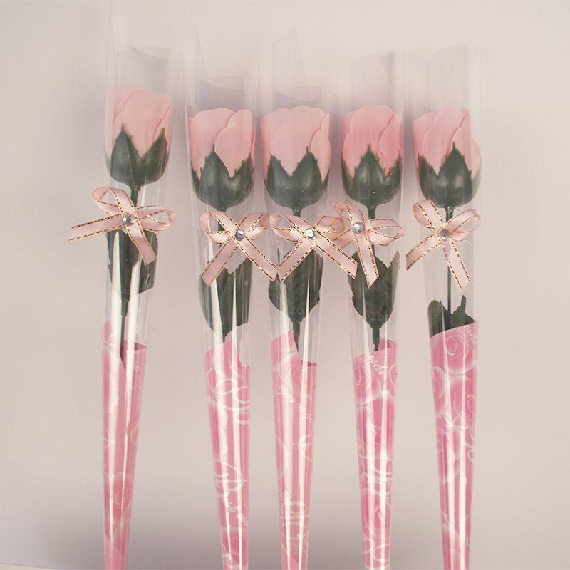 K15276 /box Withbox Simulation Artificia Fragrant Rose Soap flower Craft Wedding Home Decorative Sachet Valentine's Day Birthday Gift