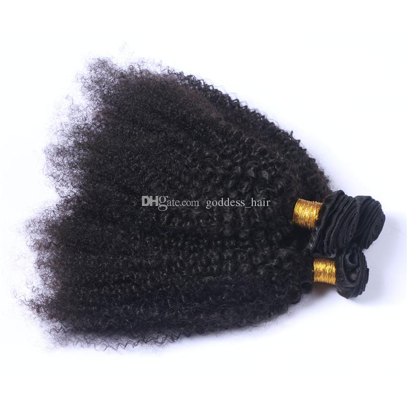 Hot Selling Kinky Curly Hair Weaves Mongolian Human Hair Bundles Afro Kinky Curly Hair Extensions For Black Woman