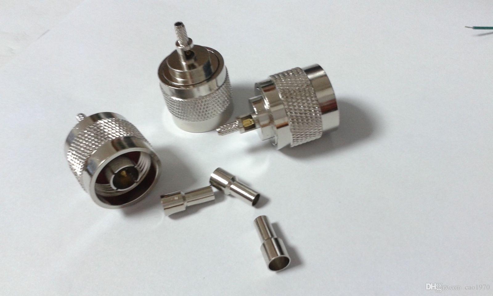 N Plug Mâle Connecteur Adaptateur Connecteur pour RG316 RG174 Câble coaxial