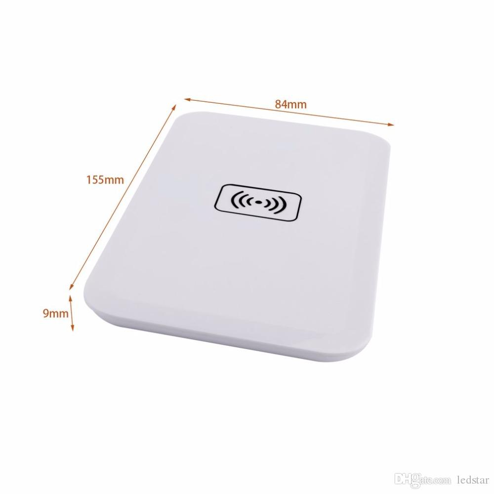 2018 Qi Standard MC-02A universal Wireless Charger Charging Transmitter Pad For Iphone X 8 Plus Samsung Galaxy S6 S7 edge plus Note8