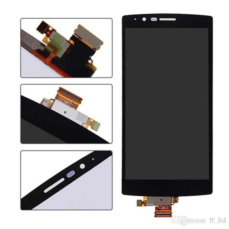 Display LCD originale LG G4 H810 H811 H815 VS991 US991 LS991 Digitalizzatore di display LCD con touch screen Assemblaggio completo Sostituire 100% testato