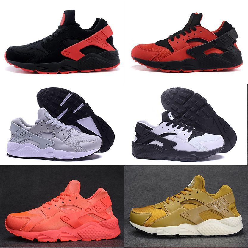 23f00ec8b173 2017 Air Huarache 1 Ultra Triple Black White Huarache Shoes Men ...