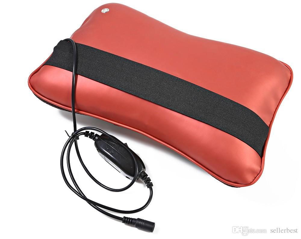 Forma multifuncional Hueso Cuello Volver Amasamiento de masaje de amasamiento profundo para el hogar del automóvil con empaques en caliente Función Mariposa Diseño