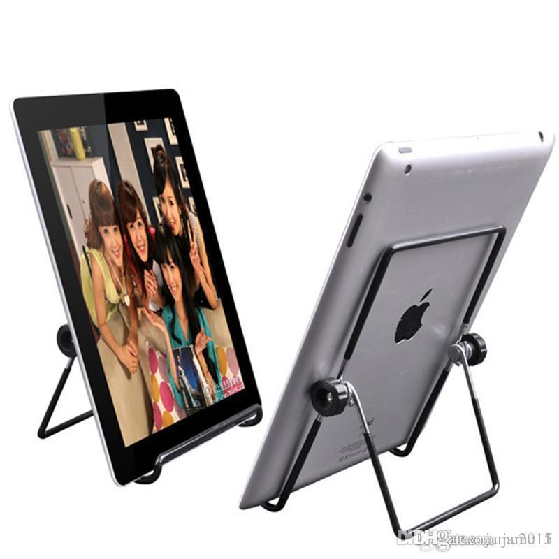 Iron Metal Adjustable Folding Holder Stand For A13 Q88 Android tablet PC smart phone Hotsale free shipping