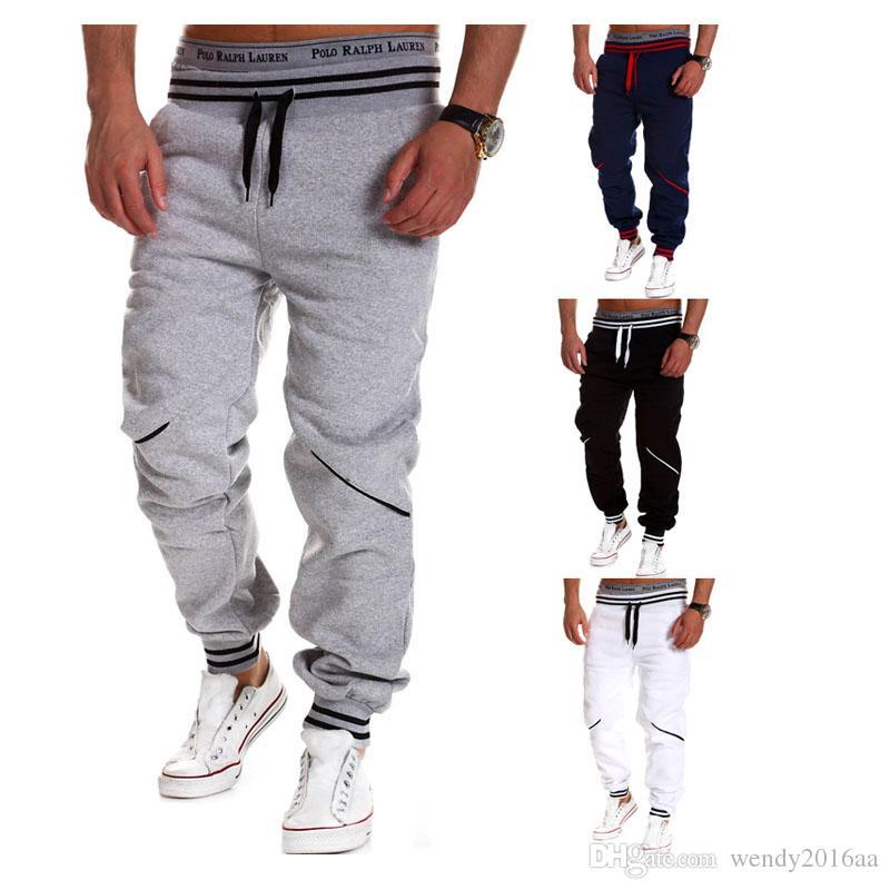 b9fc4e5764 Retail 1pc/lot Mens Fashion Joggers Pants 2016 Brand Trousers Men Sport  Pants Casual Solid Pants Jogging Sweatpants Jogger M-4XL