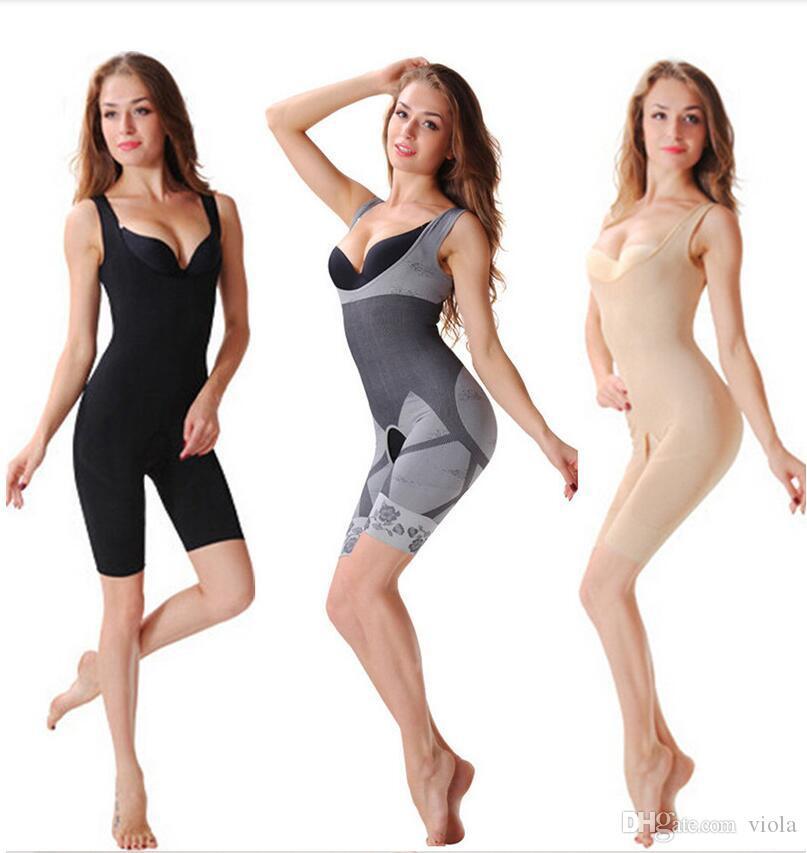 80d6deb275280 2019 Bamboo Fiber Magic Slimming Beauty Underwear Gen Bamboo Charcoal  Slimming Suits Pants Bra Bodysuit Body Shaper From Viola
