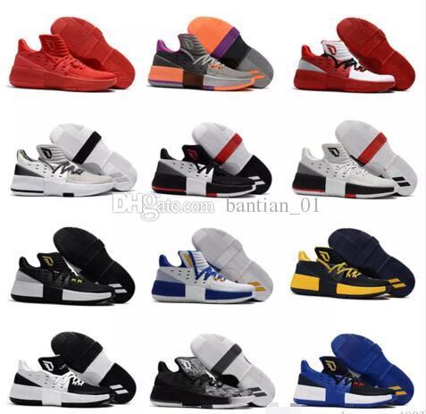 500ef122e180 2017 New Damian Lillard 3 Basketball Shoes Men Dame III BHM Training Sports  Sneakers D Lillard Dame 3 Athletic Shoes Size 7 12 Sports Shoes Basketball  From ...