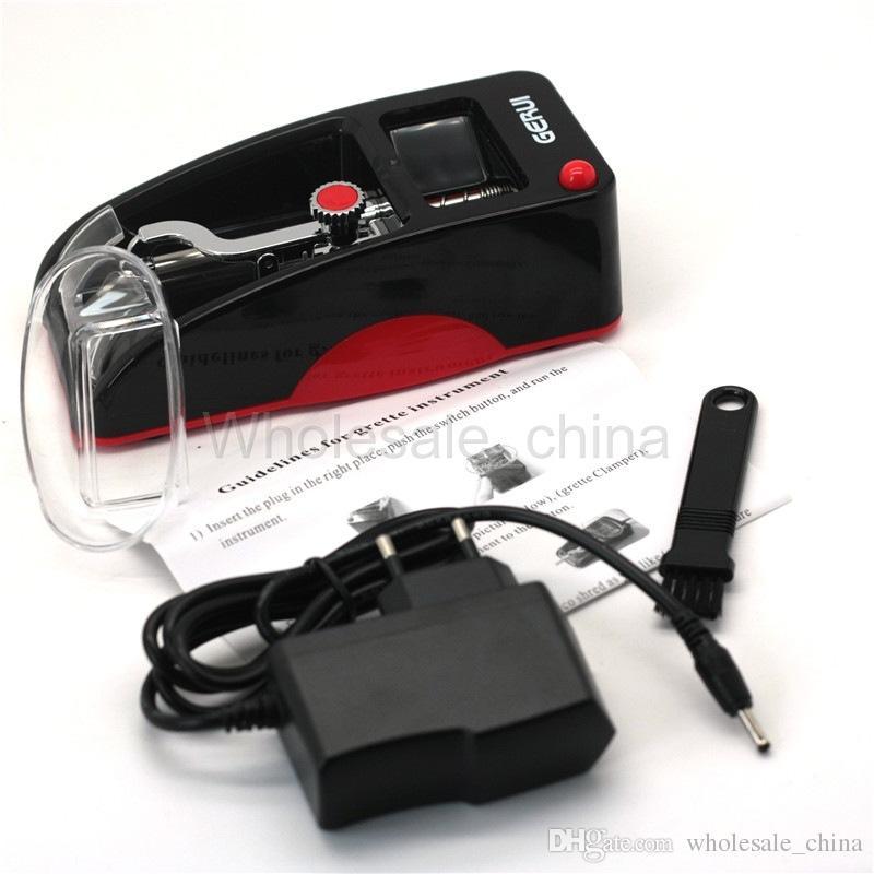 Máquina de rolo de tabaco automático Forma de carro de fumar Adicionar Auto DIY Maker Roller Portable Navio Livre DHL