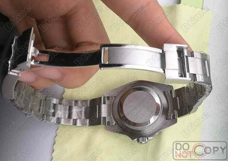 Black Ceramic Bezel Men Mechanical SS 2813 Top Automatic Movement Watch Fashion Sports Mens Orologi da polso da uomo BTTY
