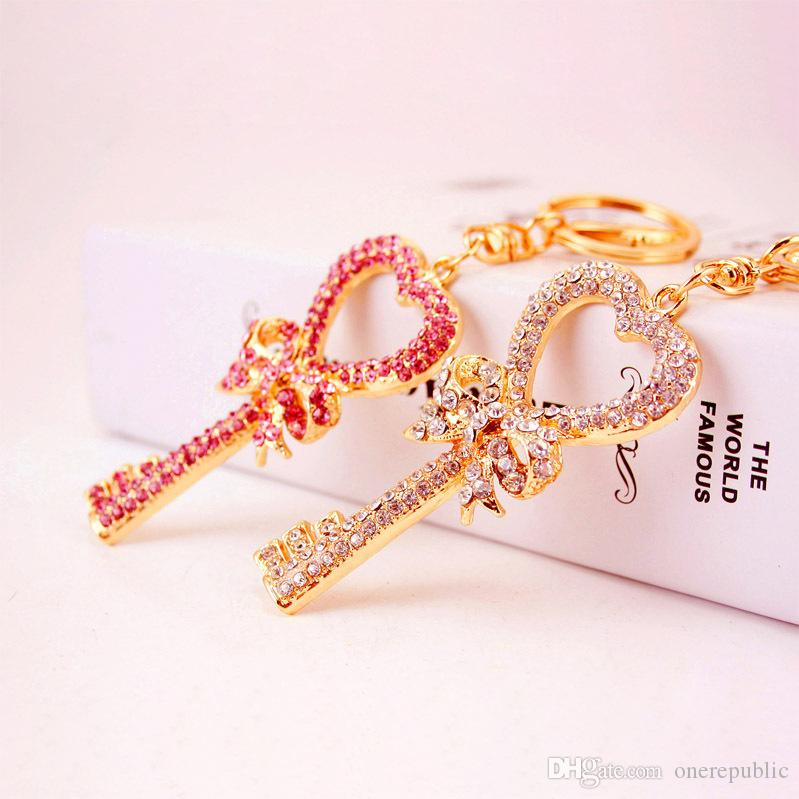 Men Birthday Gift Suit Package Car Key Ring Sunglasses: Exquisite Key Heart Butterfly Lovely Fashion Cute