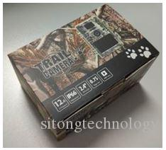 Trail camera with 12 MP image resolution Hunting Trail Camera Video Night Vision MMS GPRS Scouting Infrared