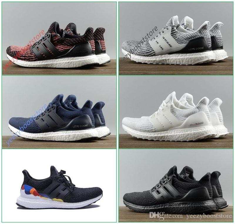 release date: 9bb03 35705 Top Quality Ultra UB 3.0 Real Quality Triple White BA8841 Triple Black  BA8920 Oreo Wine Red Dark Blue Ultraboost Running Shoes Running Shop  Sneakers Sale ...
