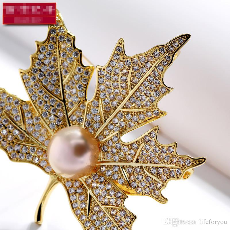 Vintage strass broche broche or-plaque alliage perle Faux Diamente Broach corsage pour mariage nuptiale invitation costume robe de soirée broche cadeau