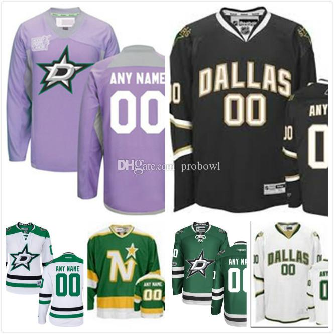 cfc4f1ad0 2019 30 Teams Wholesale Top Quality Custom Dallas Stars Mens Youth Premier  Real Style Full Embroidery Personalize Hockey Jersey From Probowl