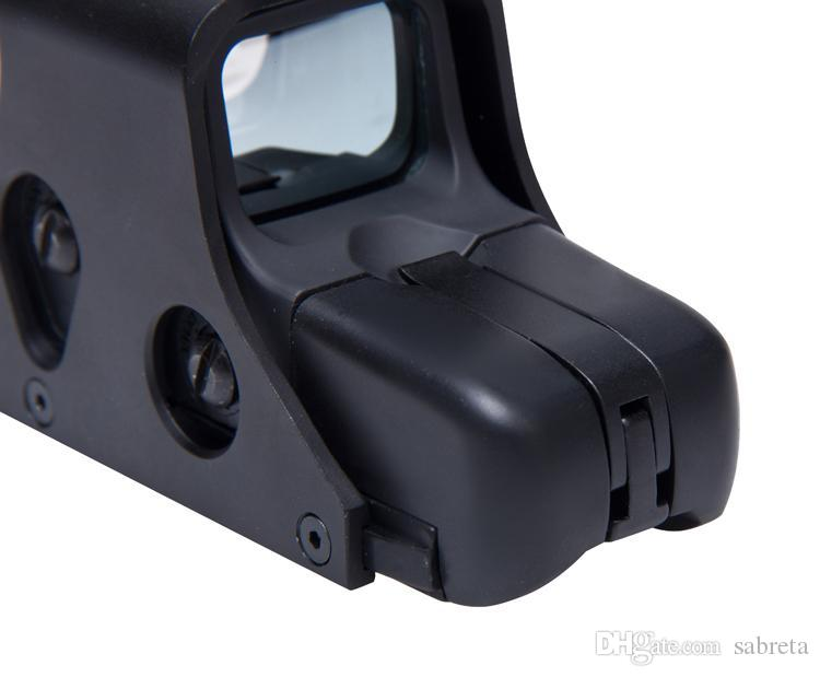 551 red dot sight Rosso / verde Olografico mirino red dot scope mirino Rifle Tactical Scope pistola 20mm Rail mirino olografico