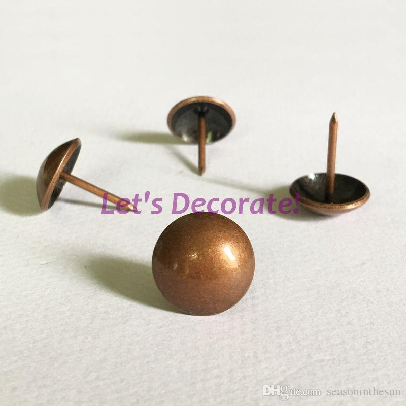 16mm Copper Color Plated Decoration Tack Upholstery Tack Shoes