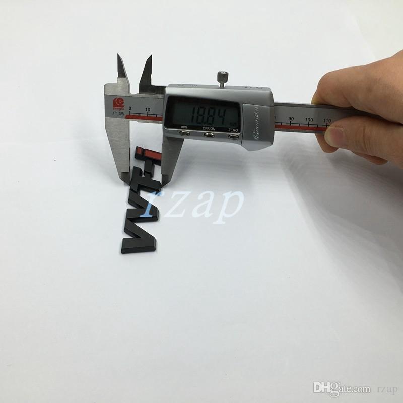 / VVTi VVTi lettera marchio dell'automobile della decalcomania del baule posteriore del distintivo dell'emblema Sticker Toyota Car Styling