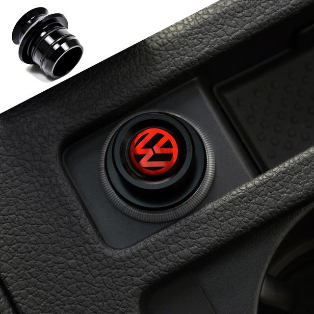 interior accessories cigarette lighter black adornment car cigarette lighter fit mk6 golf gti. Black Bedroom Furniture Sets. Home Design Ideas