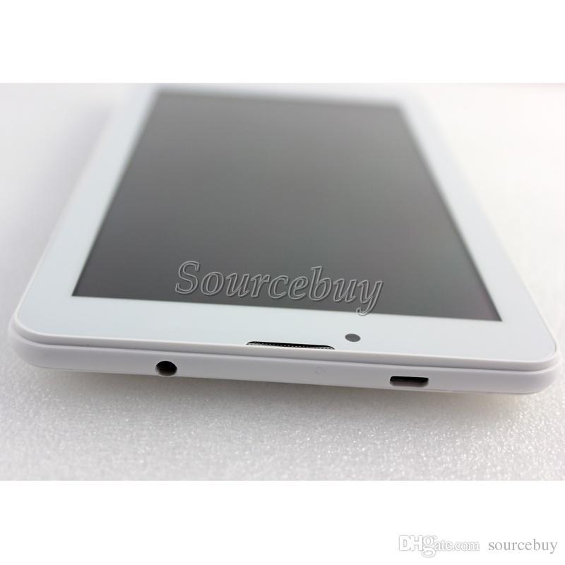 Telefon-Anruf-Tablette PC MTK6572 Doppelkern 7inch 3G WCDMA entriegelte Unterstützung WIFI Bluetooth GPS FMradio Doppel-SIM Phablet Android 4.2 1024 * 600