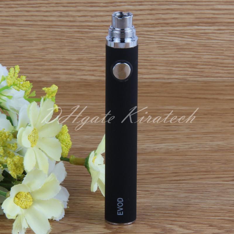 510 EVOD Vape Pen Vaporizer 650 900 1100 mah Batteries For MT3 CE4 CE5 H2 Cartridges High Quality Ecigarette Come With USB Charger