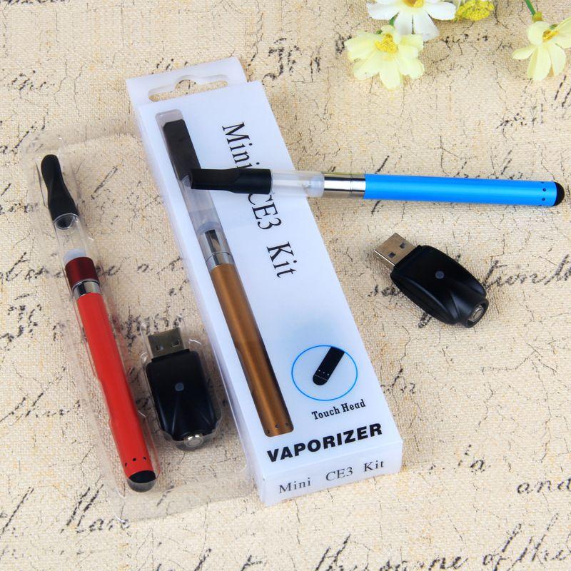 CE3 blister pack vape kit BUD vaporizer starter kit O pen tank mini ce3 atomizer oil cartridge with 510 battery 280mah
