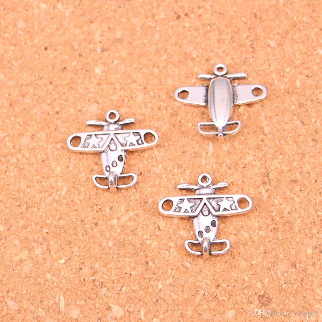 Free Ship 100Pcs Antique silver cross charms pendants Fit jewelry making 18*9mm