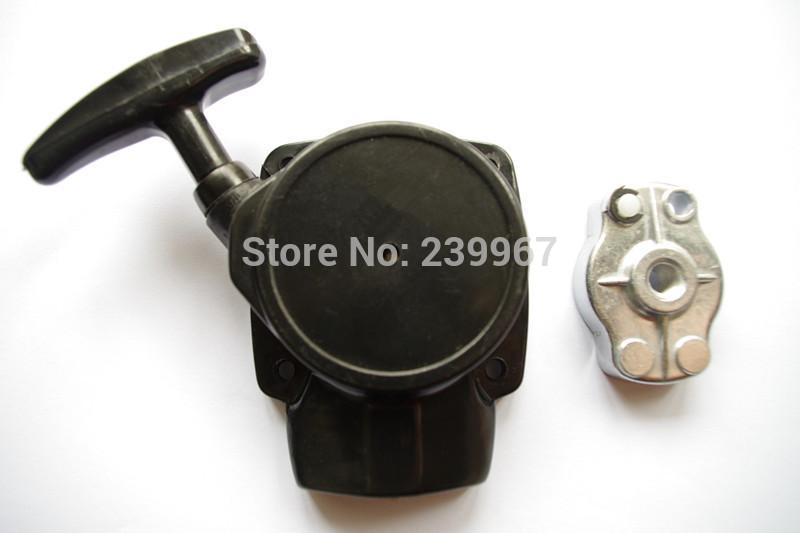 Pull-Starter w / cup passt Zenoah BC2610 G26L freies Verschiffen zurückstoßen Starter-Montagegreifer / -klinke KOMATSU-Teil # T1700-75100