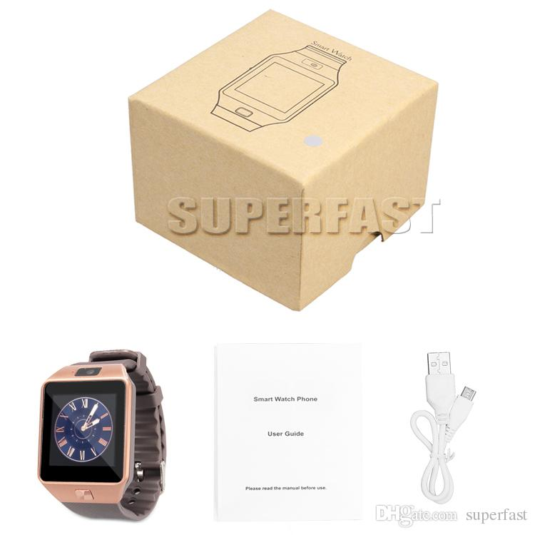 DZ09 Smart Watch Dz09 Bluetooth Smart Watches Android Smartwatches SIM Intelligent Mobile Phone Watch With Sedentary Reminder Answer Call