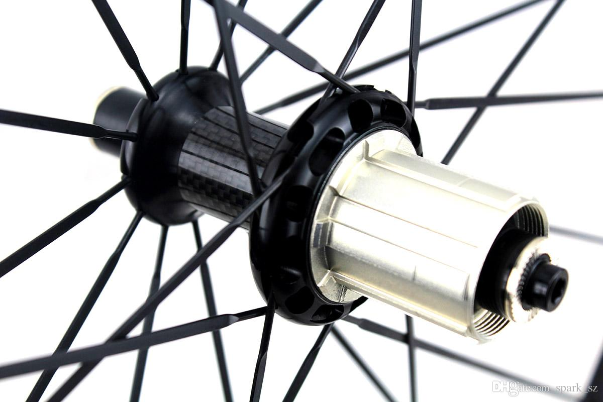 38 ملليمتر عجلات دراجة الكربون powerway r36 مستقيم سحب محور الفاصلة أنبوبي الطريق الدراجات دراجة العجلات البازلت سطح الكبح