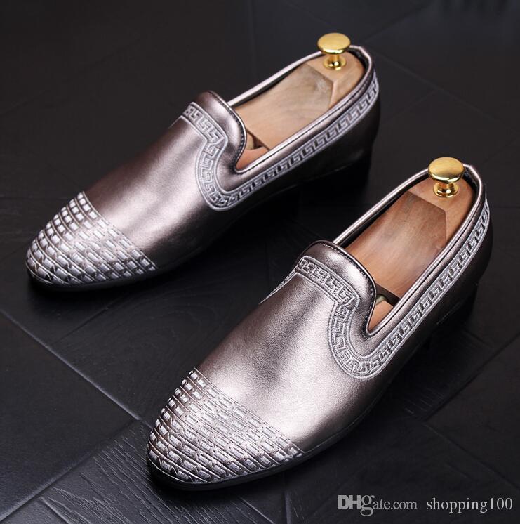Großhandel Fashion Men Casual Loafers Slip On Männer Wohnungen ...