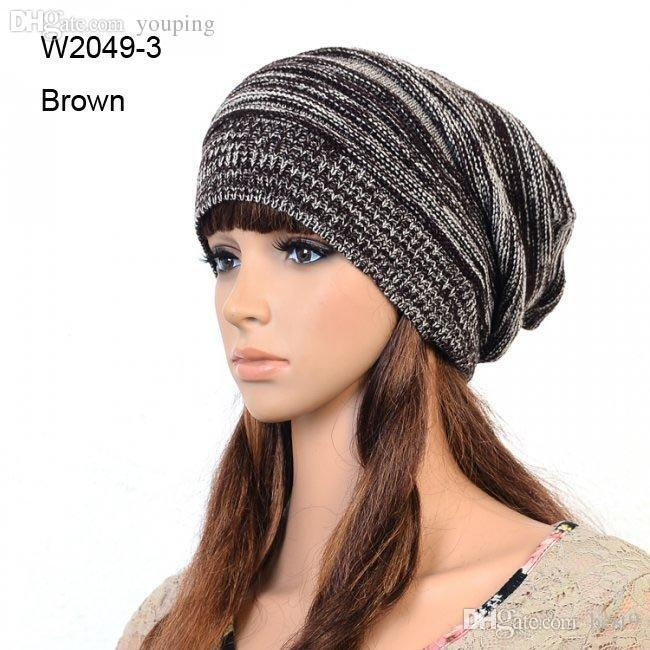 Wholesale Mens Winter Hats Knit Beanie Caps Women Knitted ...