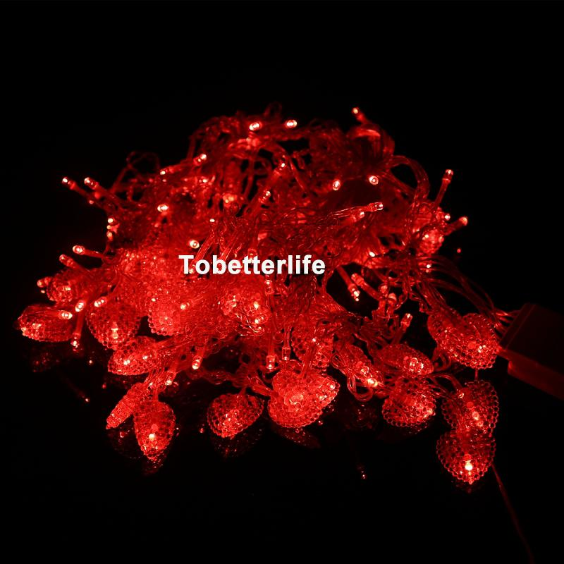 سلسلة أضواء الحزب على شكل قلب أدى أضواء الستار 110V 220V الولايات المتحدة الاتحاد الأوروبي التوصيل الزفاف الديكور الخفيفة بيربل الجنية الستار أضواء عيد الميلاد Xmax