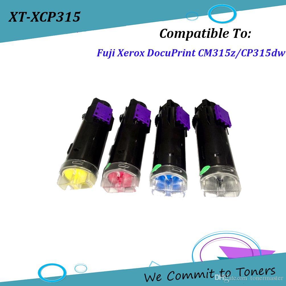 Xerox CP315 , Compatible Toner Cartridge for Fuji Xerox DocuPrint  CM315z/CP315dw , OEM : CT202610 - CT202613