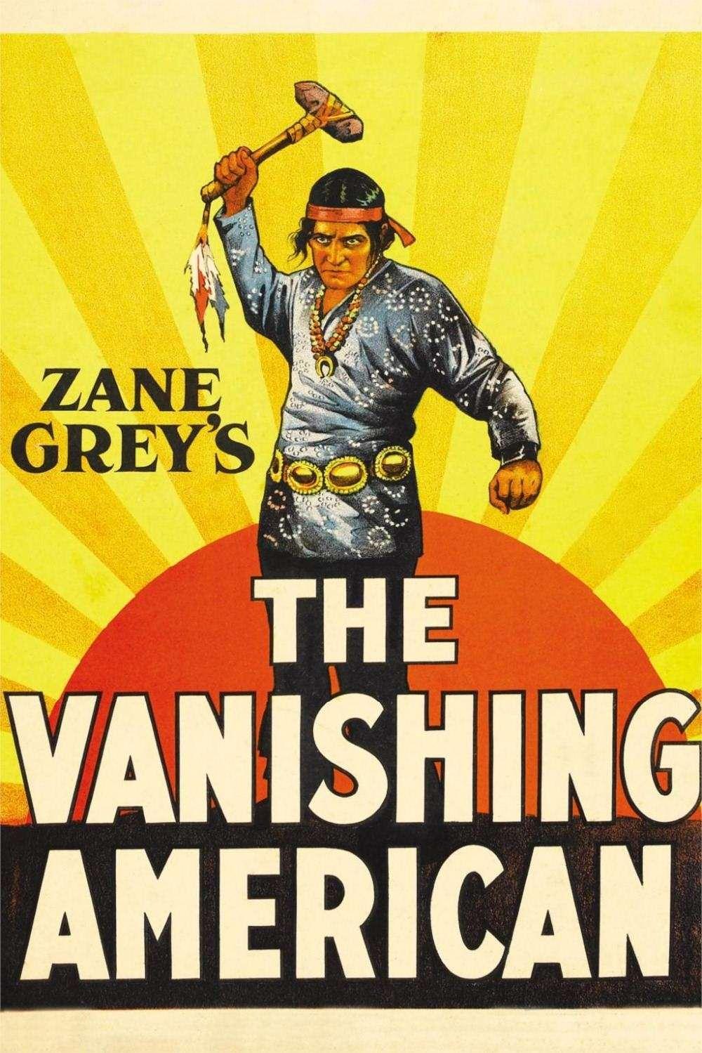 Zane Grey\'S The Vanishing American Movie Classic Poster Home ...