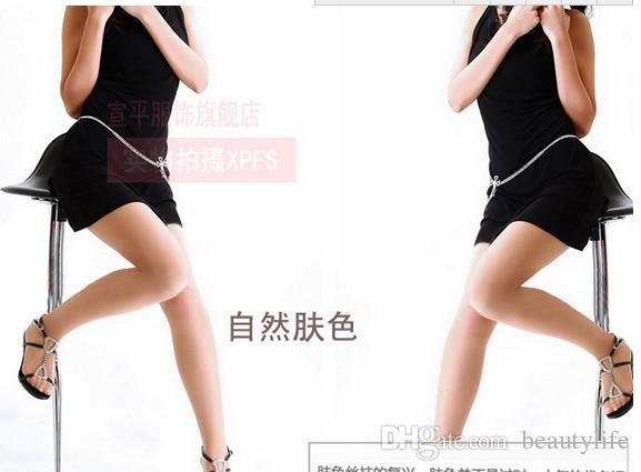 슬림 섹시 팬티 스타킹 스타킹 여성 스타킹 4 색 옵션 개별 포장