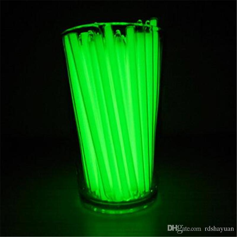 Новый водонепроницаемый 5x100mm Трит флаконы трития самосветящиеся 15 лет выживания аварийного светло-зеленый