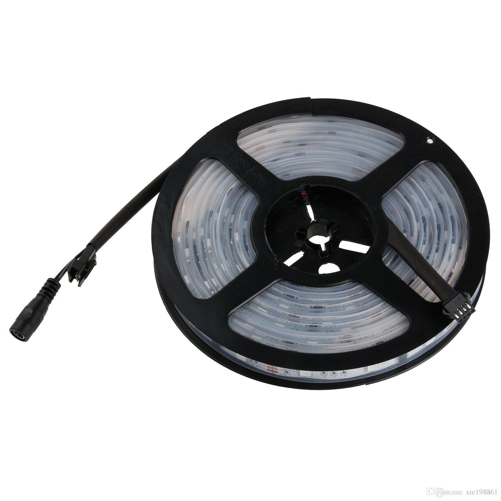 Wasserdichte 5M 5050 RGB Traumfarbe 6803 IC LED Streifen Licht 133 RF Fernbedienung ändern