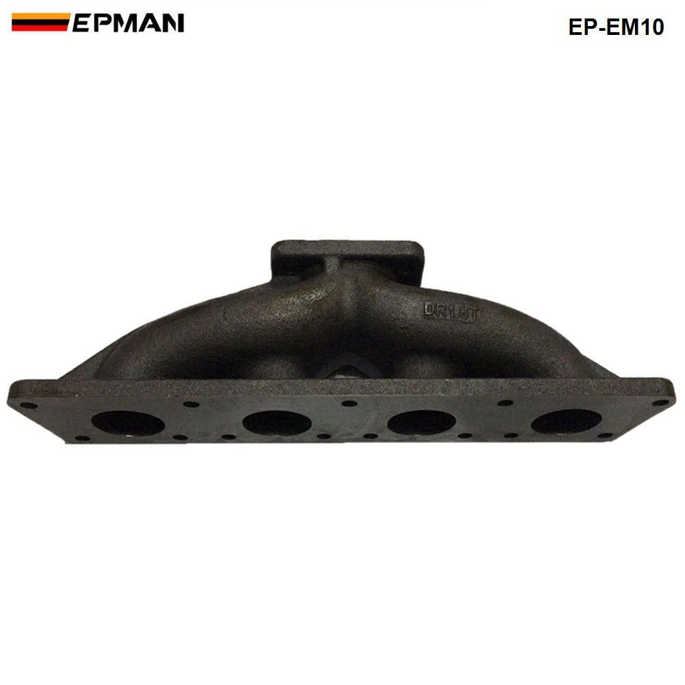 Epman- الطولي T3 / T25 المصبوب الحديد الزهر توربو العادم رأس المنوع ل vw vag 1.8 1.8T 20V EP-EM10