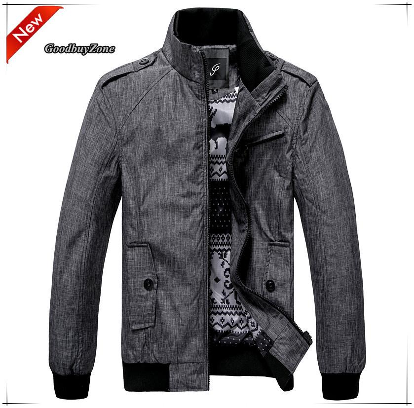 Hot Fashion New Men Jacket Casual Outwear Top Coat Spring Autumn ...