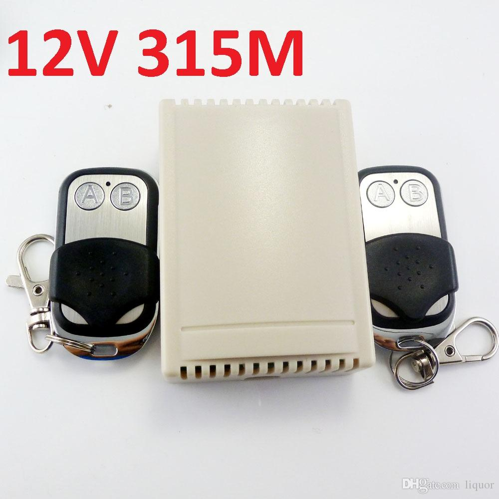 2018 315m Dc 12v 2ch Rf Wireless Delay Timer Self Locking Momentary Rc Car Wiring Diagram Am Reciver Interlock Multifunction Relay Switch From Liquor 168