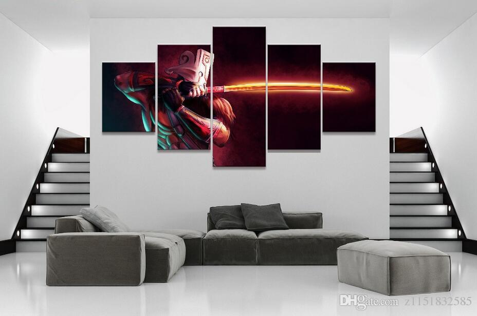 2018 Modular Home Decor Poster Dota 2 Game Painting Canvas Wall Art Picture Home  Decoration Living Room Canvas Painting From Z1151832585, $9.05 | Dhgate.Com
